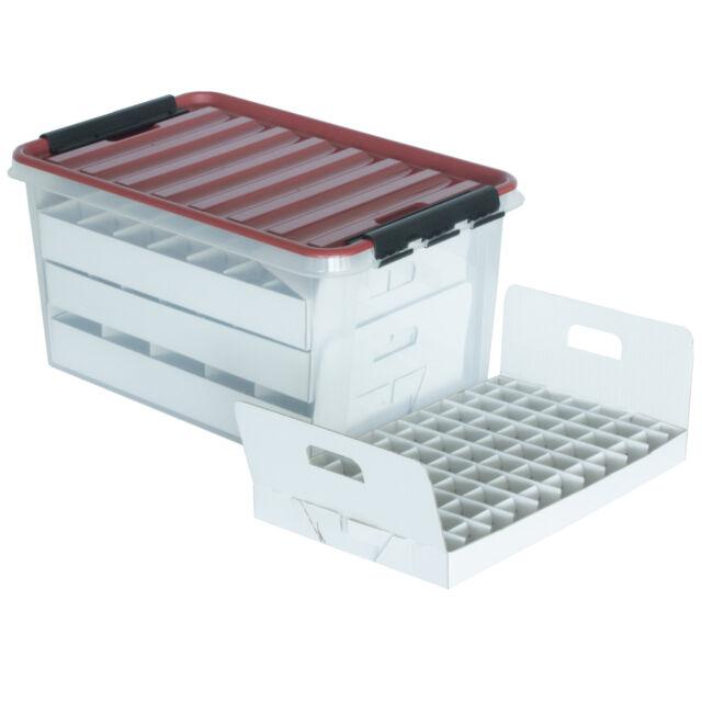 Günstige Christbaumkugeln.Top Box Compact Aufbewahrungsbox Für Christbaumkugeln
