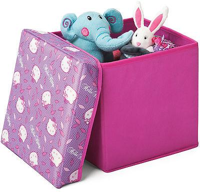 Hello Kitty 2in1 Hocker Spielzeugkiste Spielzeugtruhe Truhe Spielzeugbox 85697HK