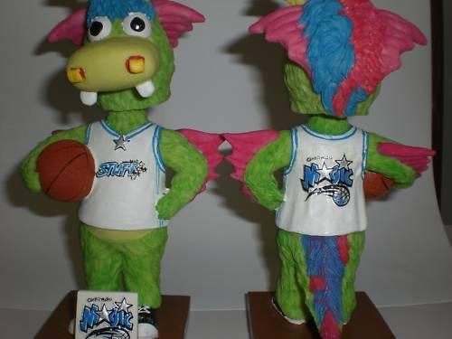 ORLANDO MAGIC NBA BASKETBALL MASCOT 2004 Bobble Bobblehead Collectible SGA NIB