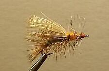 1 Dozen - Chartreuse Stimulator -  Dry Fly - Trout