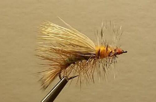 Dry Fly Chartreuse Stimulator 1 Dozen Trout