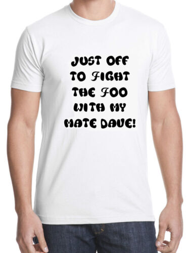 funny tshirt kids 5-15 years adult s-3xl my mate dave foo fighters