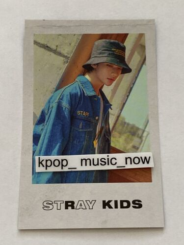 HYUNJIN USA TOUR POLAROID OFFICIAL STRAY KIDS DISTRICT 9 UNLOCK CARD PHOTO WORLD