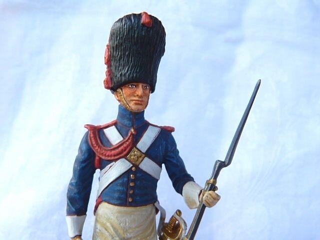 Soldat de plomb 1er empire grenadier à cheval de la garde - é riale - 90 mm