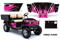 Amr Racing Ez Go Workhorse Wrap Golf Cart Decals Graphic Kit 1996-2003 Tribal Pk
