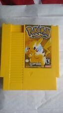 Nintendo nes pokemon yellow Free Region Cart Only Game Cart homebrew port