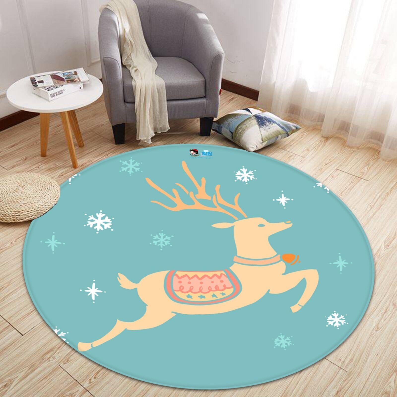 3D Weihnachten Xmas 141 Rutschfest Teppich Matte Matte Matte Raum Runden Elegant Teppich DE de9ca8
