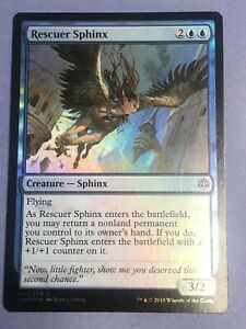 FOIL RESCUER SPHINX X4 War Of The Spark WAR Magic MTG MINT CARD