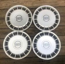 Set Of 4 Genuine Volvo 240 Wheel Covers Oem 740 940 15 3540176