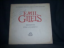 "Angel ANG-3811 Emil Gilels - Beethoven: Piano Concerto no. 4 1960's 12"" 33 RPM"