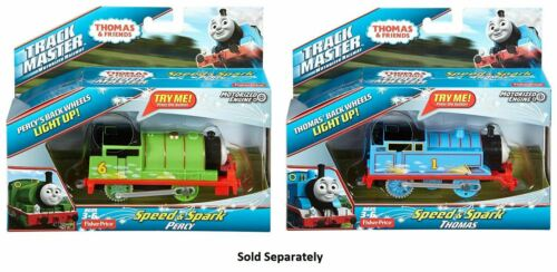 Thomas & Friends Track Master Speed and Spark Thomas/ Percy Train DVF86