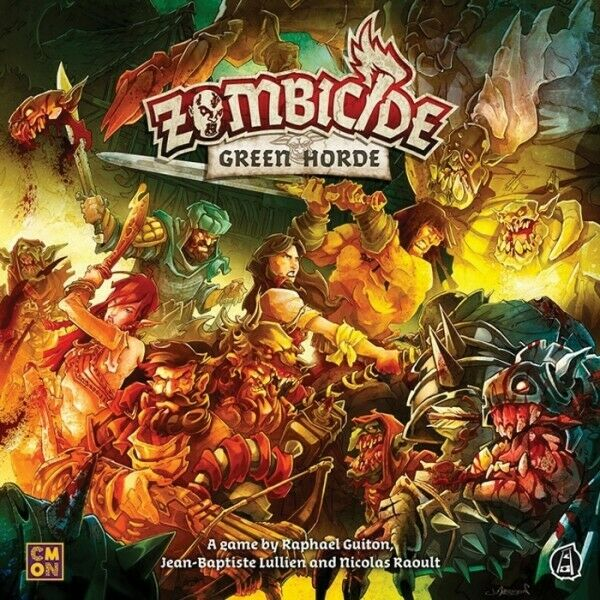 COLGUF034 CMON Zombicide  Green Horde FREE SHIPPING