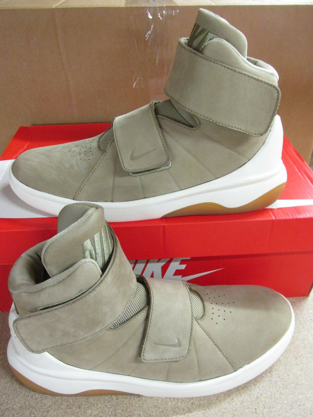 Nike Marxman PRM para Hombre Hi Top zapatos Entrenadores 832766 200 tenis zapatos Top de baloncesto 5d4d80