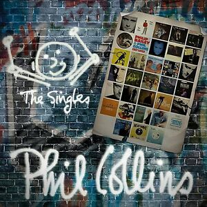 PHIL-COLLINS-THE-SINGLES-2-CD-SET-2016-GREATEST-HITS-VERY-BEST-OF