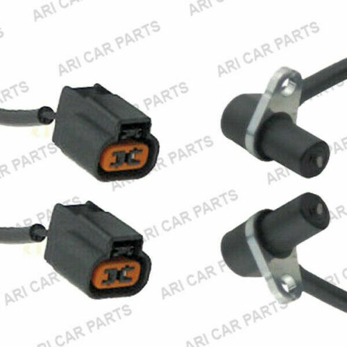 4x ABS Speed Sensor for Mitsubishi Lancer Evo Front and Rear
