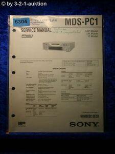 Sony-Service-Manual-MDS-PC1-Mini-Disc-Deck-6304