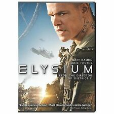 BLURAY MOVIE Elysium with Matt Damon Jodie Foster
