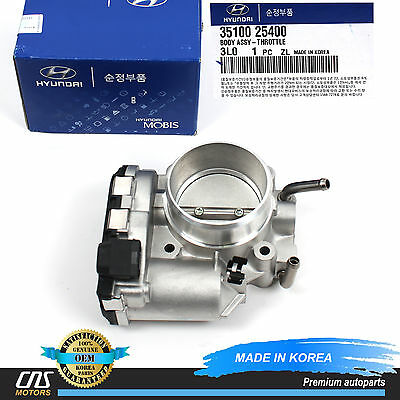 OEM GENUINE THROTTLE BODY FOR 06-13 HYUNDAI KIA 2.0L 2.4L 35100-25400