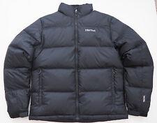 New Mens MARMOT Black  Ouray Down Jacket Coat - Small - 700 fill