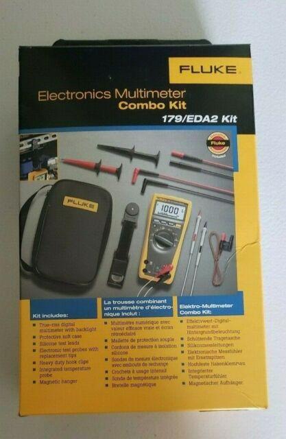 Fluke 179//EDA2 Electronik Combo Kit