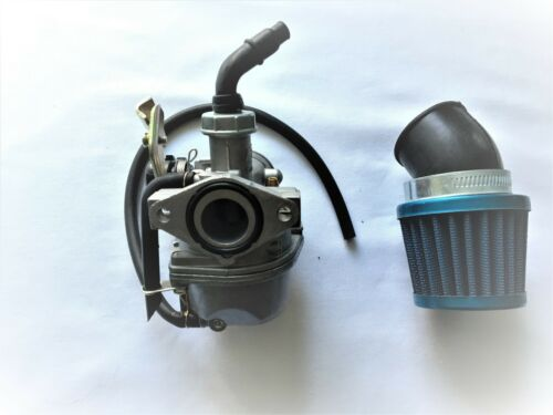 PZ19 Carburetor 50 90 110 125cc ATV Roketa TAOTAO NST Cable Choke W// Air Filter