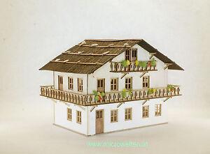 Lasercut Bausatz Kapelle am Sölkpass N