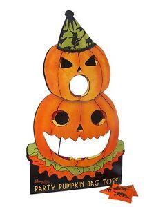 Party Pumpkin Bag Toss
