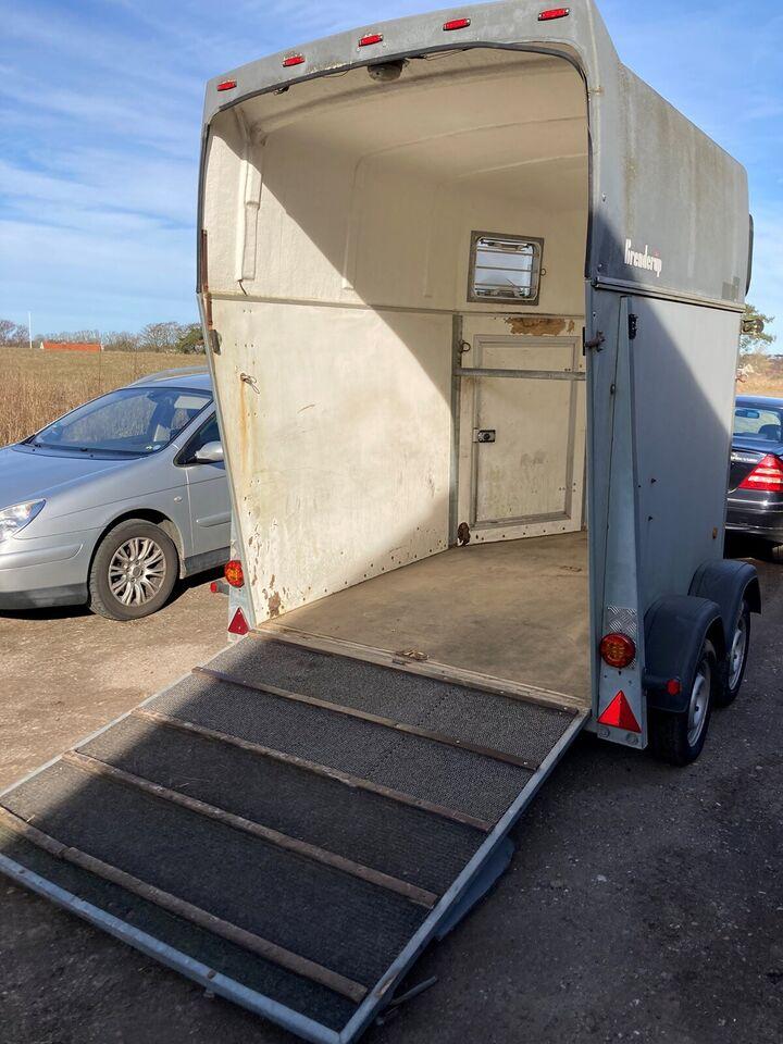 Hestetrailer, Brenderup Equiliner, lastevne (kg): 1325