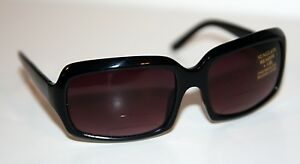 ROCCO-Designer-Gloss-BLACK-Sunglasses-1-0-READER-Bifocals-NEW