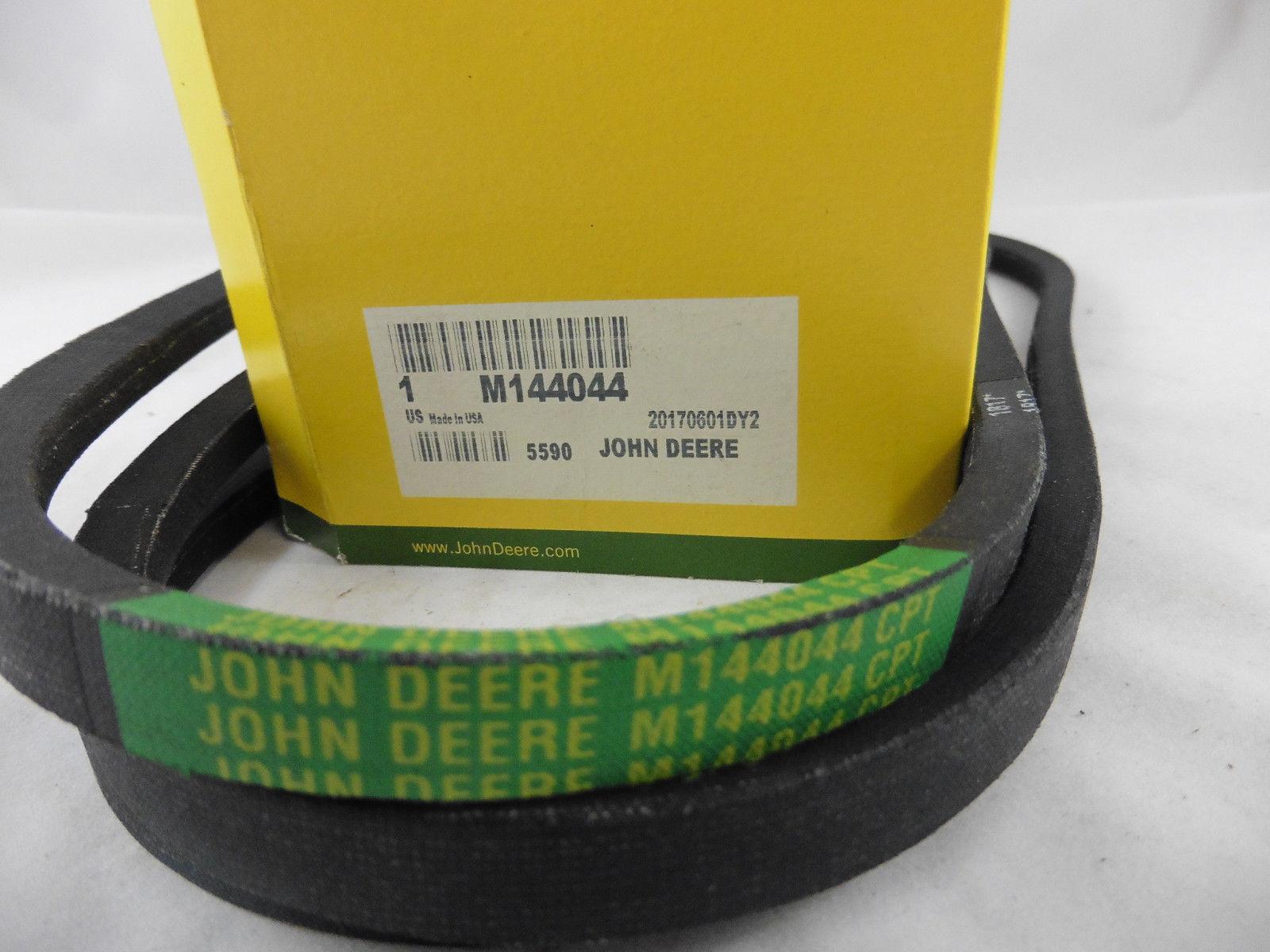 ORIGINALE JOHN DEERE cinghie trapezoidali trasmissione a cinghia attacco di guida ingranaggi lt160 170 X