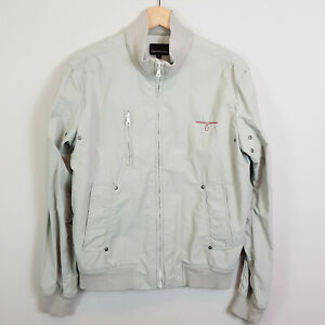 CALVIN-KLEIN-Jeans-Womens-Zip-up-Jacket-Size-S-or-AU-10-US-6