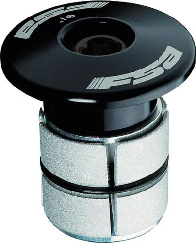 "FSA Compressor 1/"" Black Expander Plug and Top Cap"