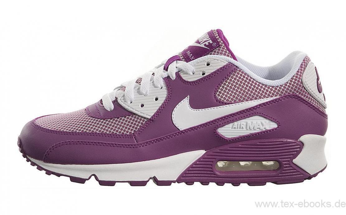 Womens Neu Nike Air MAX 90 Neu Womens Gr:44,5 Red Plum/White Einzelpaar 90 95 97 Limited 500409