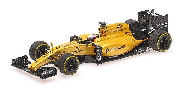1 43 Minichamps Renault RS16  20 2016 F1 GP Kevin Magnussen 417160020