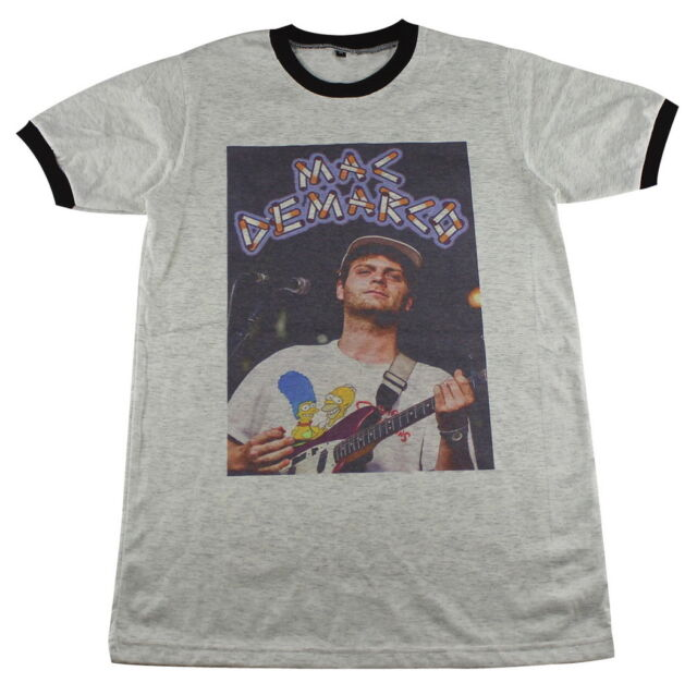 Mac Demarco Connan Mockasin rock music band retro T-Shirts M L XL