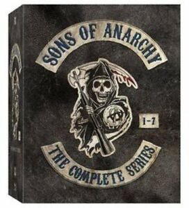 New & Sealed! TV Sons of Anarchy Complete Series DVD Box Set Seasons 1 - 7