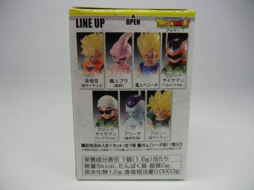 "Dragon ball Z GT Adverge 10 /"" SS Broly /"" Shokugan Figure BANDAI Japan import"