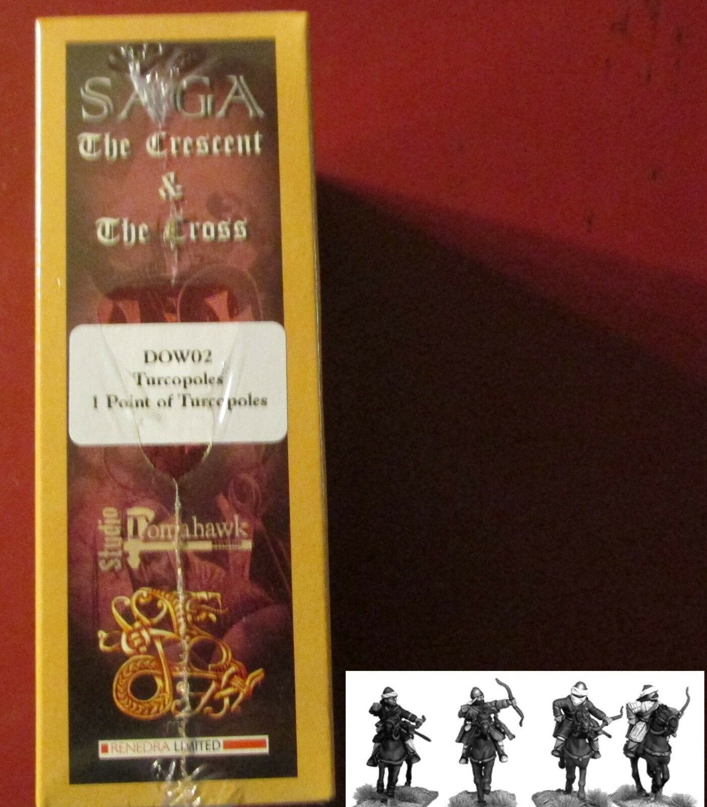 SAGA The Crescent & The Cross DOW02 Dogs of War Turcopoles Cavalry Horse Archers