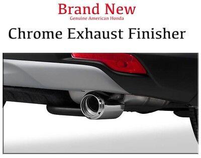 Genuine OEM Honda CR-V Chrome Exhaust Finisher 2017-2019   CRV LX EX EX-L