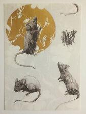 CHARMING BAKER, artist's promotional card,2012