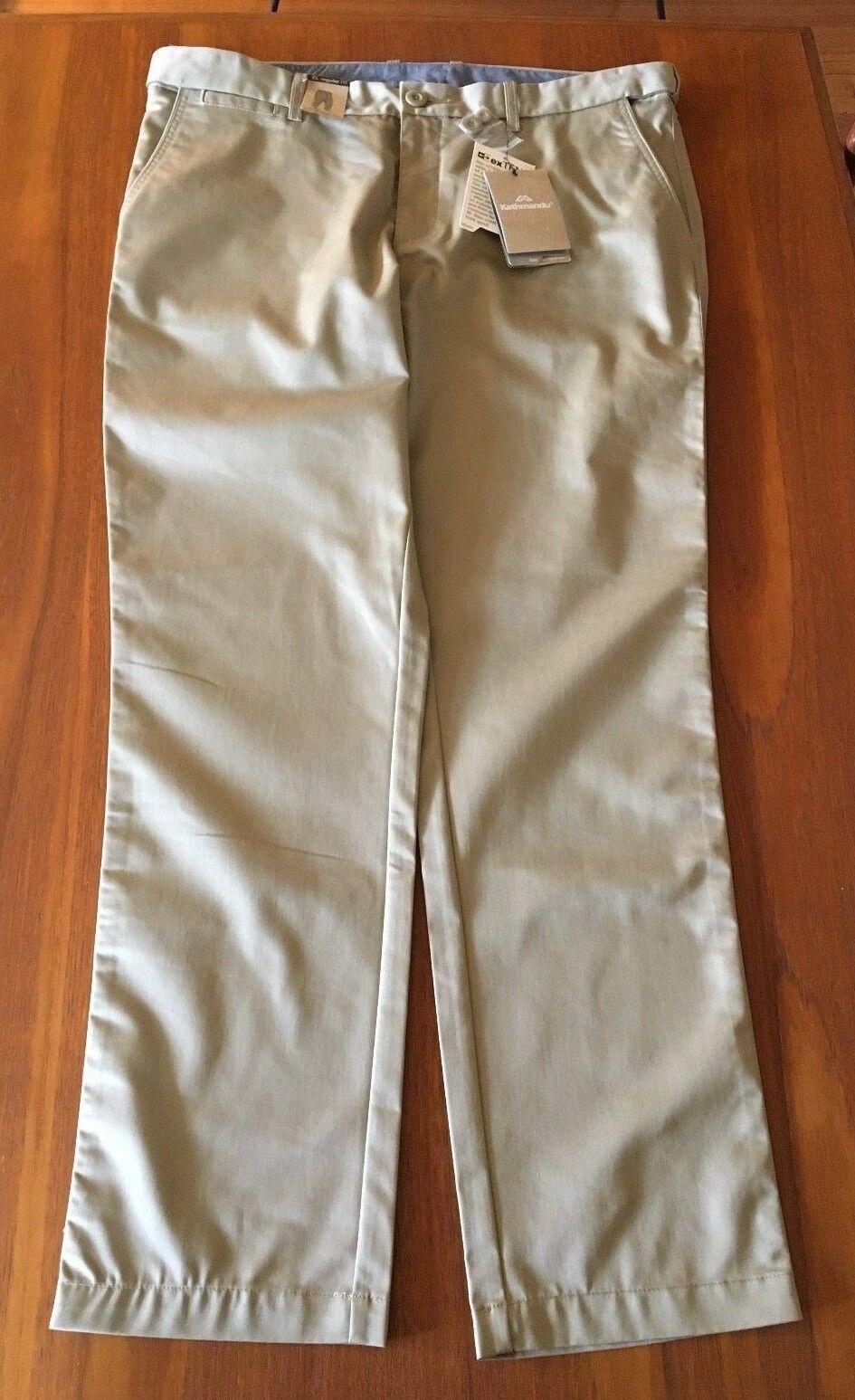 KATHMANDU Brand New Senador 'Dune' Mens UPF 50+ Stretch Regular Fit Pants XL