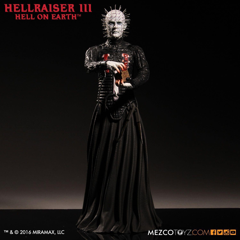 Hellraiser stecknadelkopf - 12  - skala bild - limited - edition - mezco