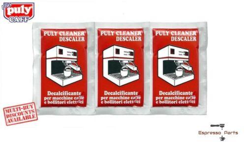 Puly Cleaner écailleur Domestique Espresso Machine à café 3 Sachets de 30 g
