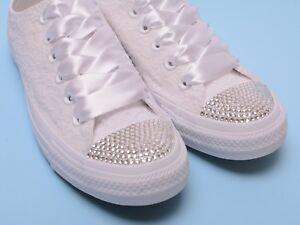 Bling Wedding Converse Sneakers