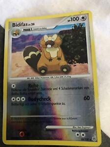 Pokemon-Karte-20-130-Bidifas-Lv-26-Holo-Rare-Selten