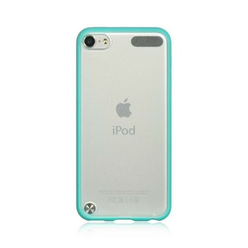 For iPod Touch 5th /& 6th Gen HARD TPU RUBBER GUMMY CASE SKIN COVER TEAL GREEN