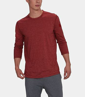Under Armour Men's Rapture Red Ua Siro 3/4 Sleeve Crew-neck Fitted T-shirt For Fast Shipping Men's Clothing
