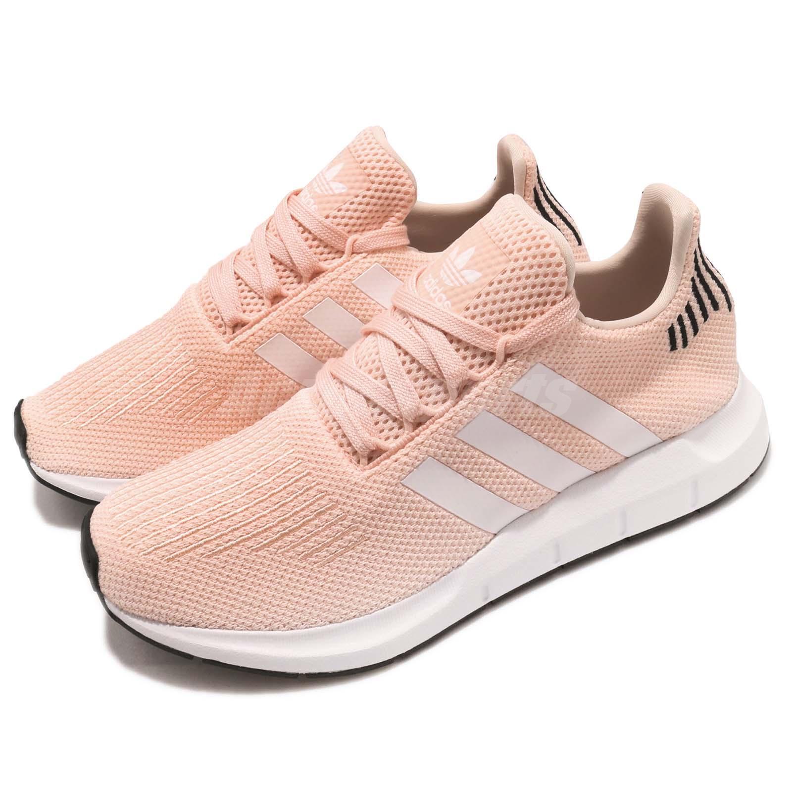 adidas Originals Swift Run W Rosa Schwarz Weiß Damen Laufschuhe Sneaker B37681