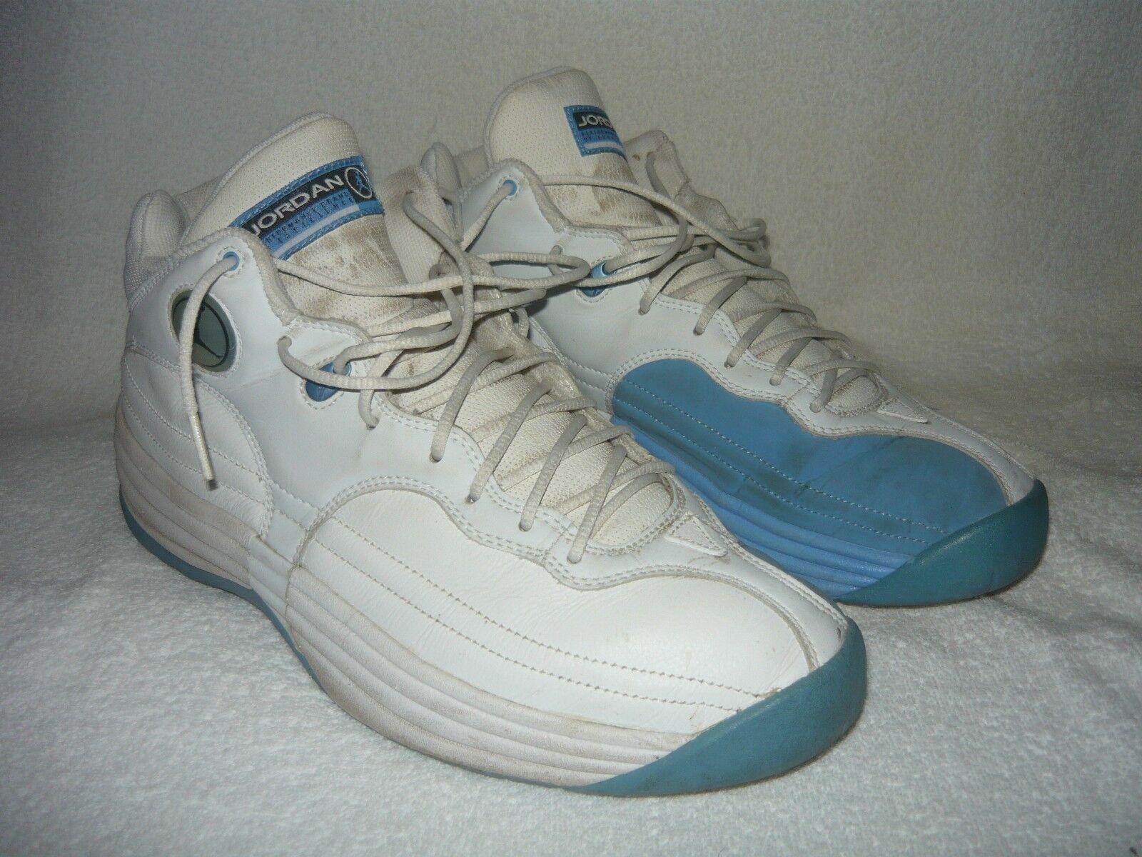 Nike Air Jordan Team 1 136003-142 2002 size 12 University Blue 2002 136003-142 North Carolina 3d13e8