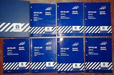 New Holland Lb115 Backhoe Loader Service Repair Manual Complete Original 399